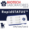 Biotech Diagnostics RapidStatus test for Canine