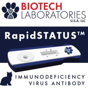 Biotech Diagnostics RapidStatus test for Feline